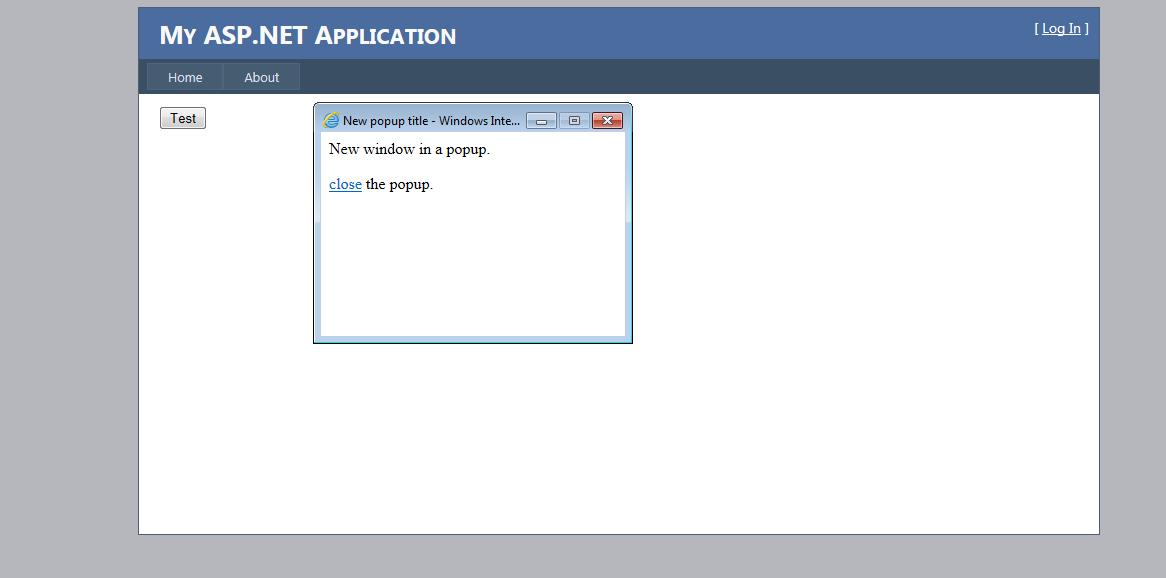 how to create popup window in asp.net c